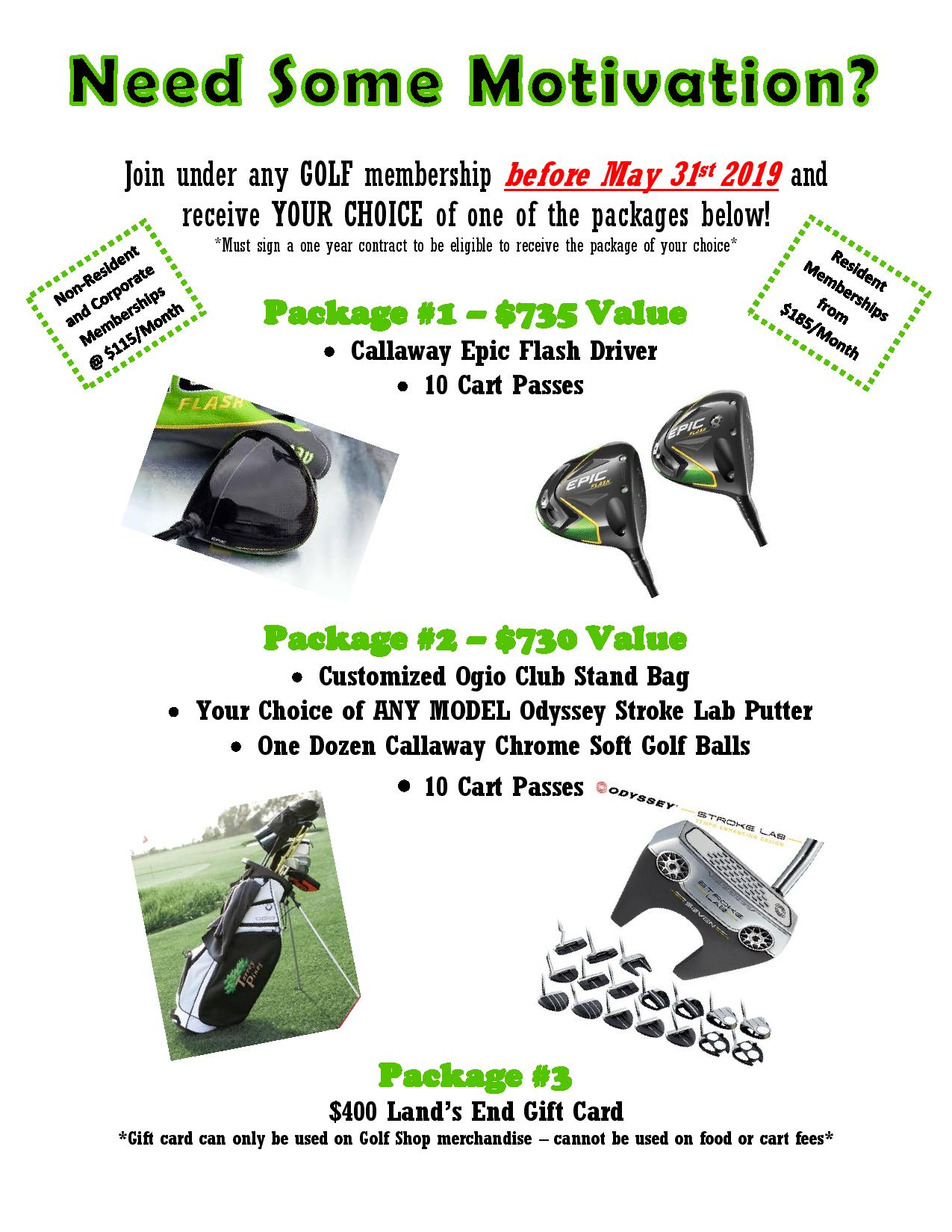 Membership Incentive Packages page 001